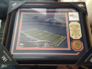 Denver Broncos Stadium picture, plus coin Stratford Kitchener Area image 1