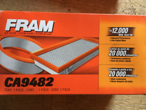 New Cabin Air Filters for your Car