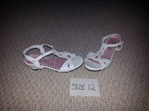 Girl's Size 12 Wedding Dress Shoes for Sale!