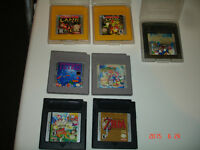 7 jeux de nintendo gameboy va sur gameboy et gameboy advance
