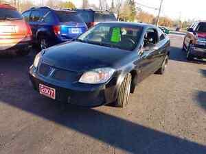 2007 pontiac g5 pursuit 2dr auto certified etested