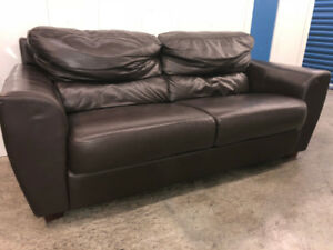Ikea Leather LOVE SEAT -  Delivery