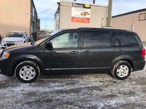 2012 DODGE GRAND CARAVAN HAS 173522 KMS REMOTE START DVD PLAYER