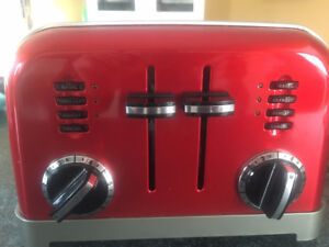 Cuisinart Red Toaster