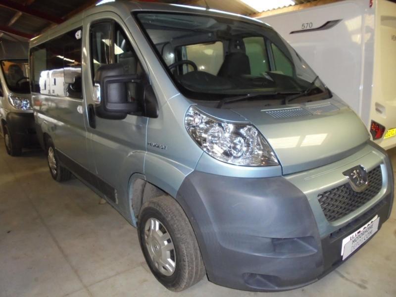 Peugeot Boxer 333 SWB Fixed Rear Bed 2 Berth Camper Van For Sale UNDER OFFER