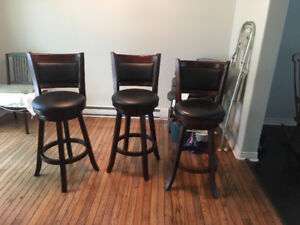 New bar stool chairs