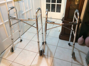 Two Guardian Signature Folding Walkers in Excellent Condition