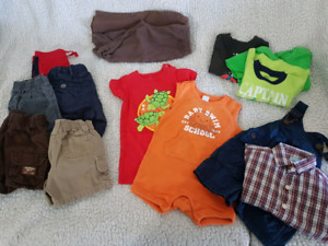 3-6 month boyish summer lot