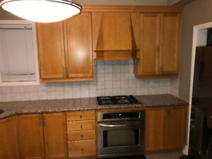 Used kitchen cabinets and appliances!!