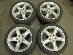 JDM Toyota Altezza Lexus IS300 OEM Wheels / 215/45/17 Tires