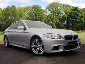 BMW 5 SERIES 3.0 530d M Sport 4dr (silver) 2013
