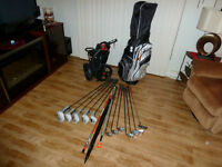 For Sale - Golf Equipment Set (Bag, Clubs, Cart, Other ....)