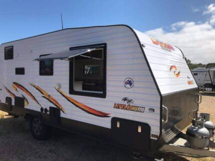 2017 Little Humi caravan