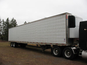2005 53 foot Utility Reefer Trailers with Thermoking and Carrier