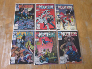 Wolverine comics lot including #1