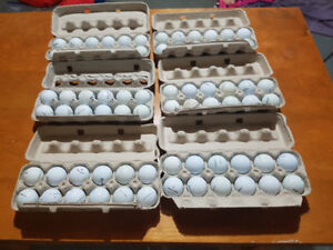 Mix golf balls