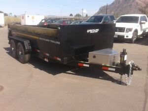 2020 Southland Commercial Dump Series SL280 HD 14 Ft Low Boy Tag