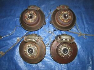JDM Toyota Supra MK4 Brake Caliper Spindle Hubs 1993-1998