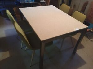 Condo Dining Table and Chairs
