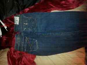 True Religion and Skinny Women's Jeans