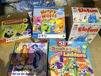 Games and books job lot
