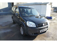 2009 59 FIAT DOBLO 1.4 8v ACTIVE 5 DOOR WHEELCHAIR DISABILITY MPV,ONLY 37,000 ML