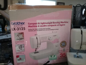 BROTHER COMPACT SEWING MACHINE
