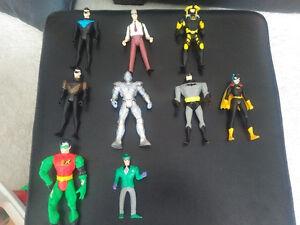 Batman series action figures