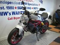 DUCATI 797 MONSTER. ONE OWNER 2855 MLS, STUNNING CONDITION THROUGHOUT
