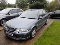 MG ZS TD TURBO DIESEL ROVER 45 HEATED LEATHERS FULL HISTORY