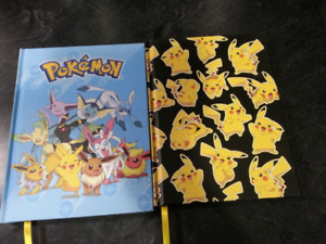 2 Pokemon Notebooks