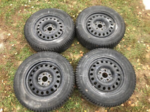 Winter Tire Package 225/65 R17 *Like New*