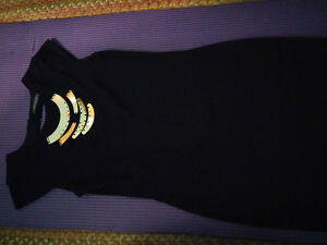 Suzy Shier Black Dress sz L