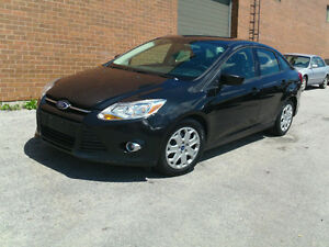2012 Ford Focus SE Sedan **CERTIFIED AND EMISSION TESTED**