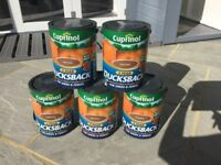 Cuprinol ducksback fence paint (come on, make me a reasonable offer!)
