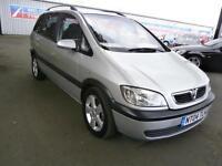 04 Vauxhall/Opel Zafira 2.0DTi 16v 2004MY Energy in silver