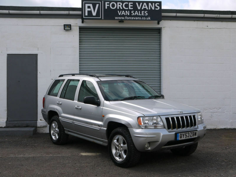 jeep grand cherokee 2 7 crd auto overland 4x4 awd 4wd 5dr 5 seat car high spec in wallingford. Black Bedroom Furniture Sets. Home Design Ideas