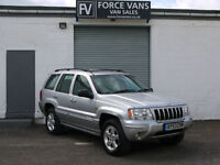 JEEP GRAND CHEROKEE 2.7 CRD AUTO OVERLAND 4X4 AWD 4WD 5DR 5 SEAT CAR HIGH SPEC