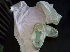 Ballet shoe,tights,bodysuit