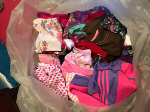 BIg bag assorted baby girl clothes
