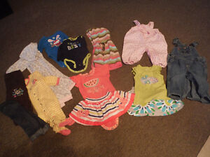 Lot baby girls 6-9 months clothes