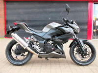 KAWASAKI Z300 BFF ABS ER300 2015 ONE OWNER HPI WARRANTY FINANCE