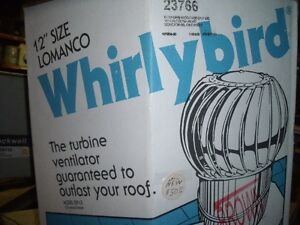 roof vent WHIRLYBIRD new in box