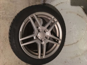 205/50R17 Mags & Winter tires for Benzo CLA250