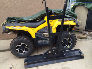 650 can am with snow plow