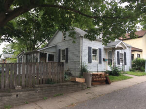 Small house in corner lot overlooking Centennial Park in St Cath