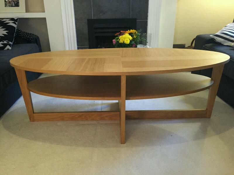 Ikea Vejmon Coffee Table Birch Veneer In Poole Dorset