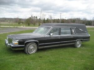 92 Cadillac Fleetwood Funeral Coach...New Arrival