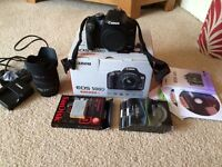 Canon Digital SLR Camera and 18-200 Lens