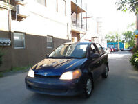 2002 TOYOTA ECHO2 AUTOMATIQUE 1.5L 4CYL ECONOMIQUE 122KM